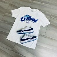 Effectus Clothing Tee to match Jordan Retro 11 Low Snakeskin. Crushed Up Tee