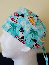 Surfing Dogs - Surgical Scrub Hat - Unisex