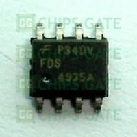 MOSFET 30V N-Channel PowerTrench SyncFET Pack of 100 FDS6680AS