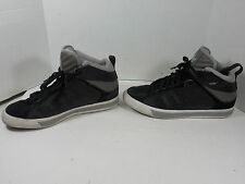 ADIDAS  MEN'S BLACK/GRAY HIGHTOPS SHOES SIZE 12