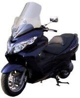 FABBRI Parabrezza Trasparente Per Suzuki Burgman 125 200 2007 2008 2009 2010