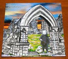 Girl in Arch Custom Art Print Tile