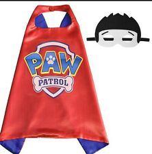 One Set Brand New PAW PATROL Ryder Superhero  Cape And Mask Costume Set