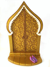 Magical Fairy/Gnome Moroccan Door w/ removable purple fairy shoes