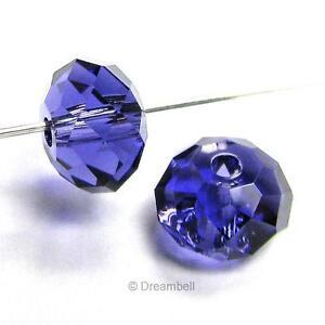 Swarovski Crystal Elements 5040 Bead RONDELLE Spacer Many Color & Size  #1