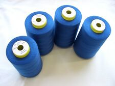 4 CONES 5000 YDS  ROYAL COMETA OVERLOCKER SEWING MACHINE THREAD  FREE DELIVERY