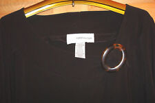 NWOT PLUS SZ 2X BLACK TOP BY SAG HARBOR