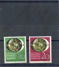 GERMANY(BUND) Sc  B318-9(MI 141-2)**F-VF NH $175