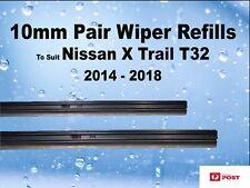 Wiper Blade Refills Nissan X Trail T32 2014 - 2018 Pair