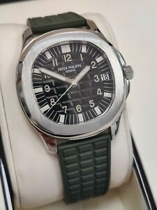 Patek Philippe Aquanaut 5065/1A Stainless Steel Green Strap 38mm Automatic (121)