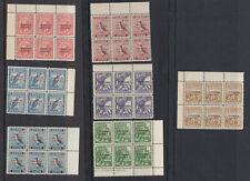 (54713) GB Lundy MNH BLOCKS Coronation 1953 unmounted mint