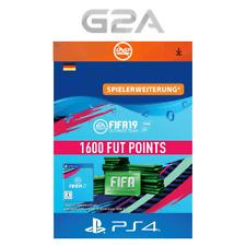 FIFA 19 Ultimate Team - 1600 FUT Points [PS4] Playstation Network PSN Code DE