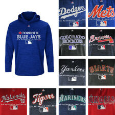 MLB Big & Tall Men's Pull Over Majestic Hoodie - Multiple Teams Available!