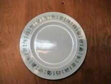 """Royal Doulton England TAPESTRY Set of 4 Luncheon Plates 9 1/8"""" Fruit Border"""