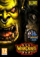 Warcraft III 3 Gold Reign of Chaos and Frozen Throne Expansion PC and MAC