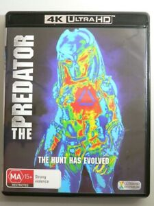 The Predator 4K UHD Blu-ray (2018 remake) New not sealed