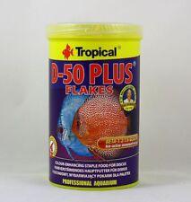 D-50 plus Flakes Tropical 1000ml Colour Enhancer Fish Main Food Diskus 11,99 €/