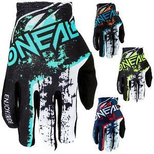 O/'Neal Matrix Handschuhe Vandal Rot Neon Gelb DH Downhill MTB BMX Mountain Bike