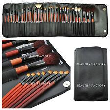 31 Pcs Full Range Makeup Brush Pure Black Bag Design 349