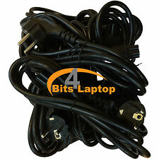 Bulk LOT 100 New 1.8m EU C5 SCHUKO Mains Power Cable Lead for Laptop Adapters