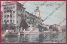 BRESCIA GARDONE RIVIERA 89 GRAND HOTEL ALBERGO - LAGO DI GARDA Cartolina