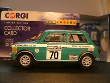 WOW SUPRB NEW VANGUARDS 1/43 MINI 1275 GT 1972 RAC RALLY AUTOCAR ROAD TEST NLA