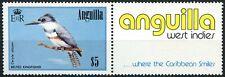 Anguilla 1985-6 SG#674 $5 Bird Definitive MNH + Label #D87400