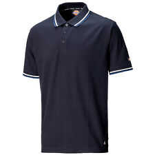 Mens Dickies Riverton Navy Blue Polo Shirt Sizes Small - XXX Large Sh2001 L