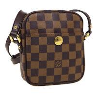LOUIS VUITTON RIFT CROSS BODY SHOULDER BAG SR0085 PURSE DAMIER N60009 36865