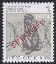Specimen, Cyprus ScRA20 Child and Barbed Wire, Refugee