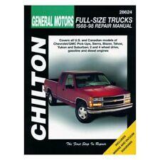 For Chevy Tahoe 95-98 Chilton General Motors Full-Size Trucks Repair Manual