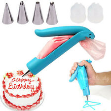 Pastry Icing Piping Bag Nozzle Tips Fondant Chocolate Cake Decorating Pen Set