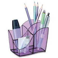 CEP 340T Pot à Crayons Tonic Lilas transparent 4 compartiments CEP Multipot Isis
