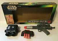 Vintage Star Wars Power of The Force Luke Skywalkers Utility Belt w/ Box 1997