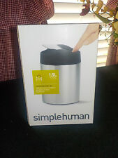 Simplehuman Countertop trash can No Fingerprints made of Stainless Steel