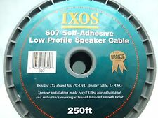 IXOS 607 Self-Adhesive Low Profile Speaker Cable sold by the meter