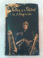 H Oloff de Wet - SIGNED - Valley of the Shadow - 1st Edition