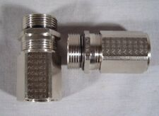 2 NEW FLEXA AGRO CONDUIT CONNECTOR ADAPTERS w/ INTEGRATED EMC CABLE GLAND