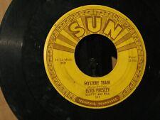 Elvis Presley 45 on SUN label: Mystery Train/ I Forgot To Remember.... 1955.