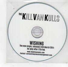 (FS980) The Kill Van Kulls, Wishing - 2014 DJ CD