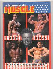 Le Monde Du MUSCLE #51 bodybuilding magazine/STEVE REEVES 1-85 (Fr)