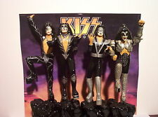 POLAR LIGHTS KISS FIGURES MODEL SET (BUILT & HAND PAINTED)  MUST SEE!!!!