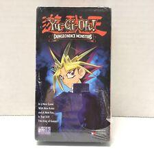 YUGIOH Dungeondice Monsters Volume 16 VHS 1996, Sealed English Version