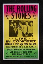 The Rolling Stones Poster 1965 Cow Palace