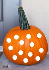 Polka Dot 2 inch Circles Halloween Fall Autumn Decor Pumpkin Decal Vinyl Sticker