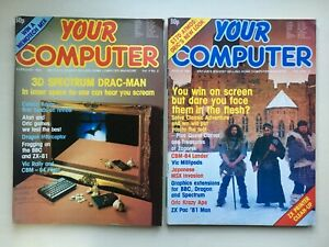 Your Computer Magazines - 2 vintage editions 1984 February & March
