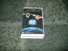 """Remastered """"E.T.""""  The Extra Terrestrial-VHS tape in Clamshell Case"""