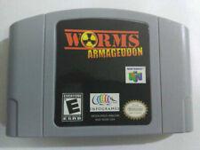 Game Card For Nintendo 64 N64 US Version (Nintendo 64, 2000) Worms: Armageddon