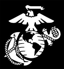 Eagle Globe Anchor USMC Marine Corps Vinyl Decal Sticker Car Truck Window