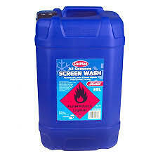Screenwash Screen Wash 25 Ltr 25L Concentrate SWS525 ALL SEASONS